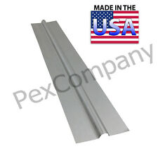 """(500) 2 ft Aluminum Heat Transfer Plates for 1/2"""" PEX"""