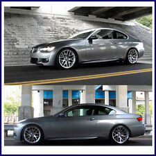 2007-2012 M3 STYLE LOWER SIDE SKIRTS ROCKER PANEL FOR BMW 3 SERIES COUPE E92 E93