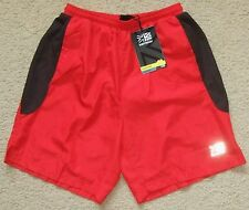 New NWT Mens KARRIMOR RUN Running Long Run Shorts Red Polyester / Inner Pants