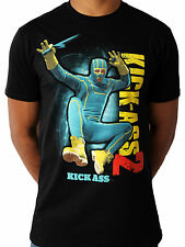 KICK ASS 2 BLACK UNISEX T-SHIRT LARGE