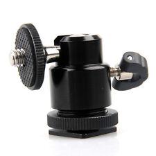 360° Rotule Mini 1/4 Support Trépied Pour Appareil Photo Reflex Numérique DV NF