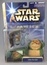 Saga de Star Wars-Jabba The Hutt/Jabbas Palacio-Figura Set escaso