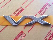 Genuine OEM Toyota Land Cruiser Rear VX badge 2003-2009 Prado 120