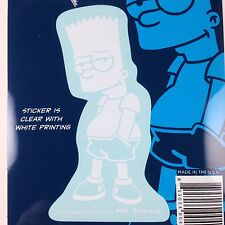 The Simpsons Bart Simpson Car Window Sticker Decal Family 4""