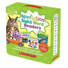 Nonfiction Sight Word Readers Parent Pack 3 : Teaches 25 Key Sight Words to...