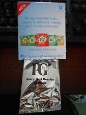 PG Tips New Juicy Red Berries Tea Monkey Promotion Sealed Tea Bag collectable