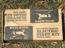 Vintage Rare Original BOLENS  MULCHING MOWER ELECTRIC START KIT 6839 NOS