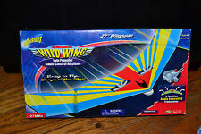 Air Warriors Wild Wing Twin Propeller Radio Control RC Airplane 27 MHz Buzz Bee