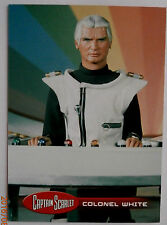 Captain scarlet-individuelle trading card #38, le colonel white-imparable cartes