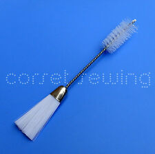 """Lint Cleaning Brush For Sewing/Embroidery Machine,Double Ended,5.7"""",Craft Tool"""