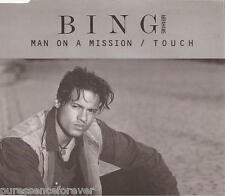 BING ABRAHAMS - Man On A Mission/Touch (Remixed Version) (UK 4 Tk CD Single)