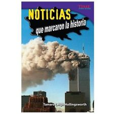 Teacher Created Materials - TIME For Kids Informational Text: Noticias que marca