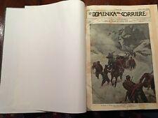 1899 DOMENICA DEL CORRIERE - ANNATA COMPLETA - CONDIZIONI FANTASTICHE - PERFETTA