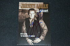 JOHNNY LOGAN signed Autogramm 10x15 cm In Person