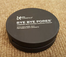 IT COSMETICS Bye Bye Pores Silk Pressed Finishing Powder Translucent 99% (Read)