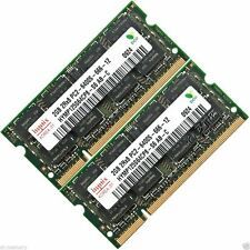 Hynix 4gb 2x2 Gb Ddr2-800 Mhz Pc2-6400 6400s Para Laptop Sodimm Memoria Ram de 200 patillas
