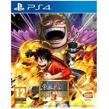 ONE Piece Pirate Warriors 3 GIOCO ps4 NUOVO di zecca