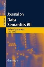 Journal on Data Semantics VII (Lecture Notes in Computer Science  Journal on Dat