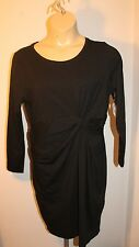 Old Navy Women's Plus Black Twist Front Dress Size 2X