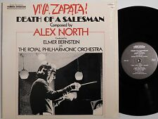 VIVA ZAPATA DEATH OF A SALESMAN film score lp ELMER BERNSTEIN FILMUSIC