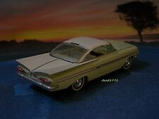1959 59 CHEVY IMPALA COUPE COLLECTIBLE DIECAST MODEL 1/64 SCALE DISPLAY DIORAMA