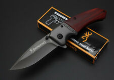 "New F82 7.5"" Liner Lock Blade Rescue Survival Folding Knife Sharp Portable Gift"