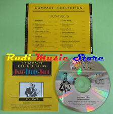 CD JAZZ BLUES SOUL 1925-1926/3 compilation PROMO 1994 HAWKINS MORTON (C25)