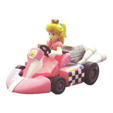Mario Kart Wii - Pull Back Racers - PRINCESS PEACH on Kart (2 inch) - New Loose