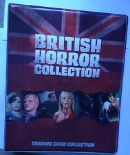 BRITISH HORROR COLLECTION mini master set  by Unstoppable with B1/B2 promos