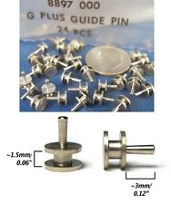 24 Aurora AFX G+ MAGNATRACTION FitMany HO Slot Car Chassis STEEL GUIDE PINS 8897