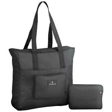 Victorinox Travel Gear Packable Tote Bag Travel Packing Accessory - Black