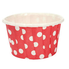 20pcs Paper Cupcake Wrapper Liner Paper Cake Cups Red T1