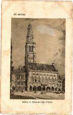 CPA Beffroi et Hotel-de-Ville d'Arras (196931)