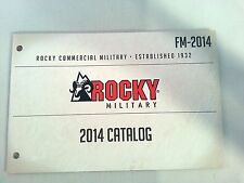 Rocky Commercial Military 2014 Catalog Booklet / Boots Socks