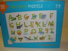 ABC Alphabet Picture Floor Jigsaw Puzzle Animals Crocodile Creek 35 Pieces