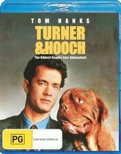 TURNER & HOOCH (Tom Hanks)  - Blu Ray - Sealed Region B