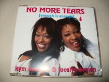KYM MAZELLE & JOCELYN BROWN - NO MORE TEARS - CD SINGLE
