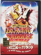 Dvd Mezzogiorno e Mezzo di Fuoco - ed. Snapper di Mel Brooks 1974 Usato raro