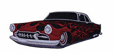 Hot Rod Classic Car Logo Embroidered Iron On Badge Applique Patch P3592