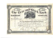 Erie and Black Rock Railroad Company  1903