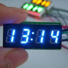 "0.30"" Digital Clock 12V 24V Car Uhr Motorcycle LED Watch Meter 24 hour time B"