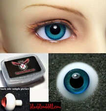 1/3 1/4 1/6 bjd 16mm teal high quality glass doll eyes dollfie TS-24 ship US