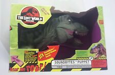 "Jurassic Park The Lost World 1996  T Rex 12"" Large Hand Puppet ( working )"