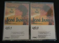 JONI JAMES Dedicated To You JJC-1 & JJC-2 Sealed NEW Cassette Pair 1991 FreeShip