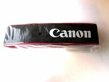 "Genuine Canon EOS  DSLR Camera Shoulder Neck Strap ~ 1.25"" Wide~NEW"