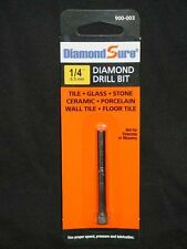 "1/4"" 6.5 mm DiamondSure Diamond Drill Bit for Tile Glass Stone Ceramic Porc"