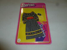 WORLD OF BARBIE BEST BUY FASHIONS SET FLORAL PEASANT DRESS 2561 MATTEL 1975 NOC