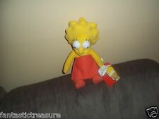 NEW LISA MARIE SIMPSON PLUSH DOLL GIRL FIGURE CARTOON TV SHOW MATT GROENING TOY