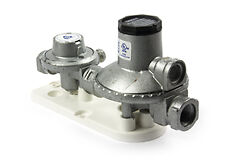ITALY CAVAGNA LPG TWIN STAGE GAS REGULATOR -160Mj - WITH BRACKET - PART# 6060521