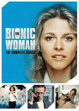 The Bionic Woman: The Complete Series (DVD, 3 DVD SETS 1, 2, & 3)  ABSOLUTE MINT